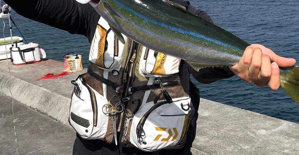 フカセ釣りのライフジャケット