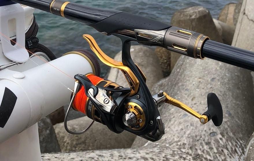 フカセ釣りに使うレバーリール